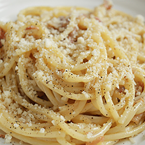 Carbonara, the ultimate hypertext? A post @NPR (and more @UniSG)