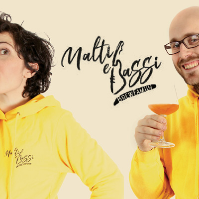 Malti e Bassi Brewfamily: una passione per la birra, la musica e la narrazione di storie enogastronomiche sui colli della Romagna