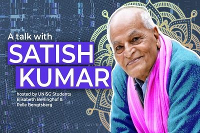 Peace Tea, Non-Violence & Elegant Simplicity… A Talk with Satish Kumar