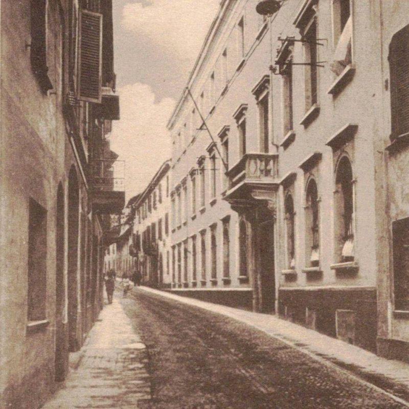 Via Mendicità Istruita (where everything began)