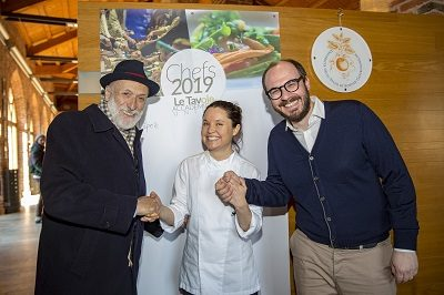 UNISG Academic Tables 2019 Calendar Presented at Pollenzo with Chef Karime López from Massimo Bottura's Gucci Osteria in Florence